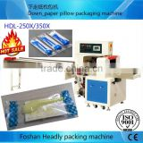 Foshan Headly automatic disposable syringe horizontal pillow packaging machine price