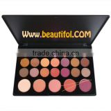 Perfect 26 color natural makeup blush pallet, glitter blusher , Shiny chemical powder blushes, Cosmetics for cheek
