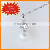 Big sale factory wholesale fashion pendant, metal alloy pendant, shell pearl pendant