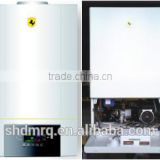 Mini wall hung gas boiler, gas room heater with touch panel , domestic instant gas water heater