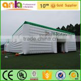 Outdoor glamping inflatable cube tent for big events