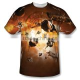 All over sublimation printed t-shirt / 3d print t-shirts / Fully printed t-shirts BI-3227