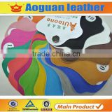 China factory price fashion shoes material pu leather fabric