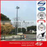 Outdoor Aluminum Stainless Steel 25M High Mast Lighting Pole Supplier