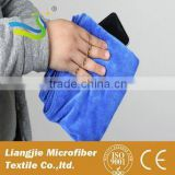 opp plastic bag packed 80 Polyester 20 Polyamide with hook kitchen cleaning cloth