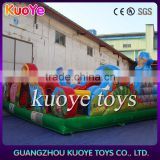 outdoor playground equipment sale,animal inflatable multi park,kids inflatable playground house