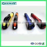 super bright 6+1 LED pen shaped plastic car work light