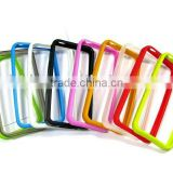 for iphone 4 case bumper case for iphone 4 4G ,for iphone 4 bumper case,Rubber Hard silicone case with various color