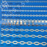 single chain,jewelry basic chain,necklace chain,iron chain,flat cross chain.clothes chain