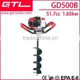 Tree planting hole digger hand operated gasoline/petrol earth auger GD500B