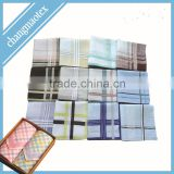 men's cotton yarn dye personalized handkerchief                                                                         Quality Choice