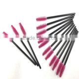 200 Pcs Disposable Eyelash Black Mascara Wand Applicator Brush Cosmetic Eye Wands Brush Makeup Applicators