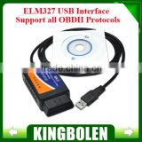 ELM327 USB , ELM327 V1.5 USB Diagnostic Scanner Auto Scanner OBD2 II Car Diagnostic Tool Auto Scan Tool Fast Shipping!