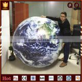 New products ground party balloon inflatable led light globe balloon with rope