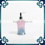 2015 new product Hand Sanitizer Soap Dispenser/Household mosaic design bathroom accessories