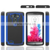 Defender football pattern Three in one waterproof silicone rubber Armor Heavy duty ballistic Case for LG G3