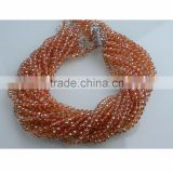 Jewellery findings and accessory crystal string beads diy bracelet china glass bead