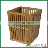 FB8-2020 simple classic bamboo laundry basket