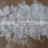 white crystal flake caustic soda food grade