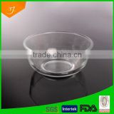 Machinemades Transparent Glass Bowl With Decorative Pattern, High Quality Transparent Glass Bowl