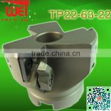 Face Milling Cutter Suit With TPMN220408 Use to Milling Metal Surface Indexable Milling Head