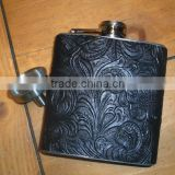 8oz hip flask approval stainless steel gift set Stainless steel Jagermeister hip whisky flask