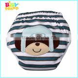 100% Cotton Embroidery Cartoon Patterns Baby Trainer Potty Training Pants