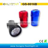 GS-8016B promotional mini Led light keychain lamp bulb led light keyring with customized logo