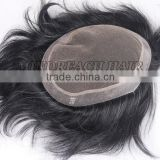 Hot selling short human hair wigs for men price