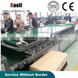 Semi-auto paperboard laminator machine/Real Manufacturer Corrugated Carton Forming machine