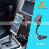 2016 new Usb Automobile Charger mobile phone accessory magnetic mount holder gooseneck holder