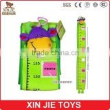 plush material baby height charts 100% polyester material height charts for baby children cute plush height charts