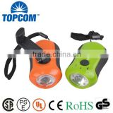 TOP Quality Portable Plastic LED Dynamo Flashlight No Batteries                                                                         Quality Choice
