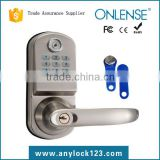 Wholesale electronic password hotel lock with code keyboard manufacturer