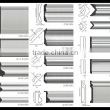 Silver Grey Color Polystyrene Mouldings Composite PS Wall skirting Board                                                                         Quality Choice