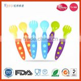 Food Grade Silicone Baby Training Spoon