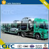 2 Axles 50 tons CIMC manufacture car transport semi truck trailer