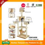 High quality low price cat tree wood column