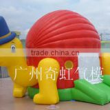 Turtle inflatable bouncer for kids, baby bounce house, inflatable jumper with slide