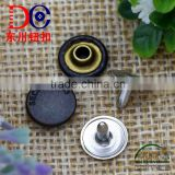 Factory custom jeans rivets buttons brass round button for leather denim