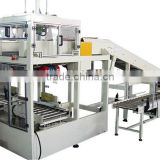 Adopt non-stop feeding Bagged product case package machine