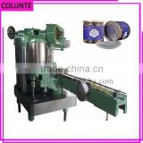 high speed automatic vacuum tin paper can closing sealing machine price