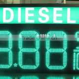 10 inches led gas price display/led gas station sign/led fuel price sign/led gas price billboard