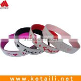 World cup orders processed in our factory silicone bracelet