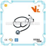 V-ST303 cardiology stethoscope(stainless steel stethoscope)