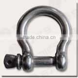 stainless steel adjustable bow shackles