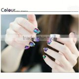 2014 New Design cosmetic Nail art polish stickers brush tool for eye brow pencil