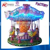 Indoor Playground Equipment Mini Carousel Rides 8 seats Carousel For Sale