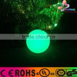 2016 promotional rechargeable colorful outdoor floating led induction globe led ball lights