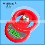 lcd display glass panel electronic weight scales with clock function